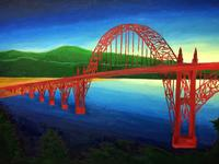 Yaquina Bay Bridge, Newport, OR