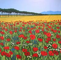 Frascati Field & Poppies